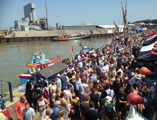 Whitstable Harbour Day 2016